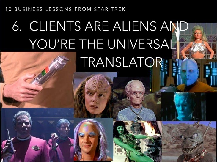 Clients are Aliens