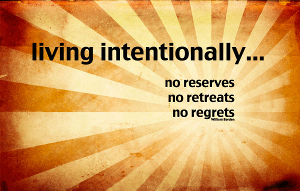 living intentionally