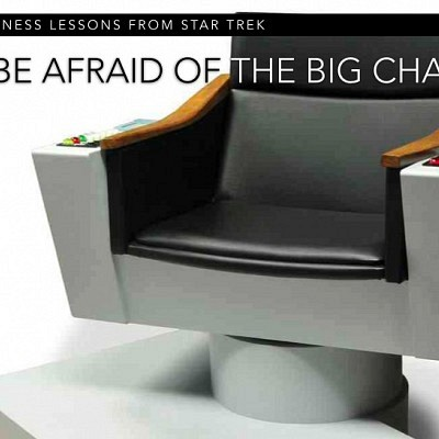 Be Afraid of the Big Chair