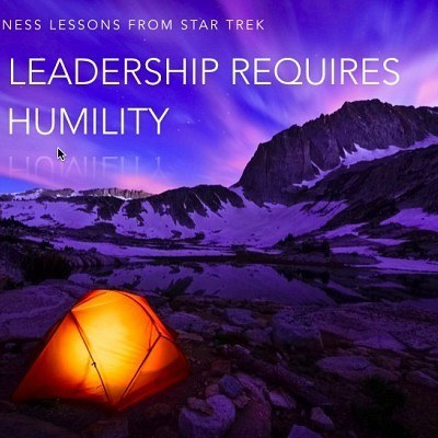 Leadership Requires Humility